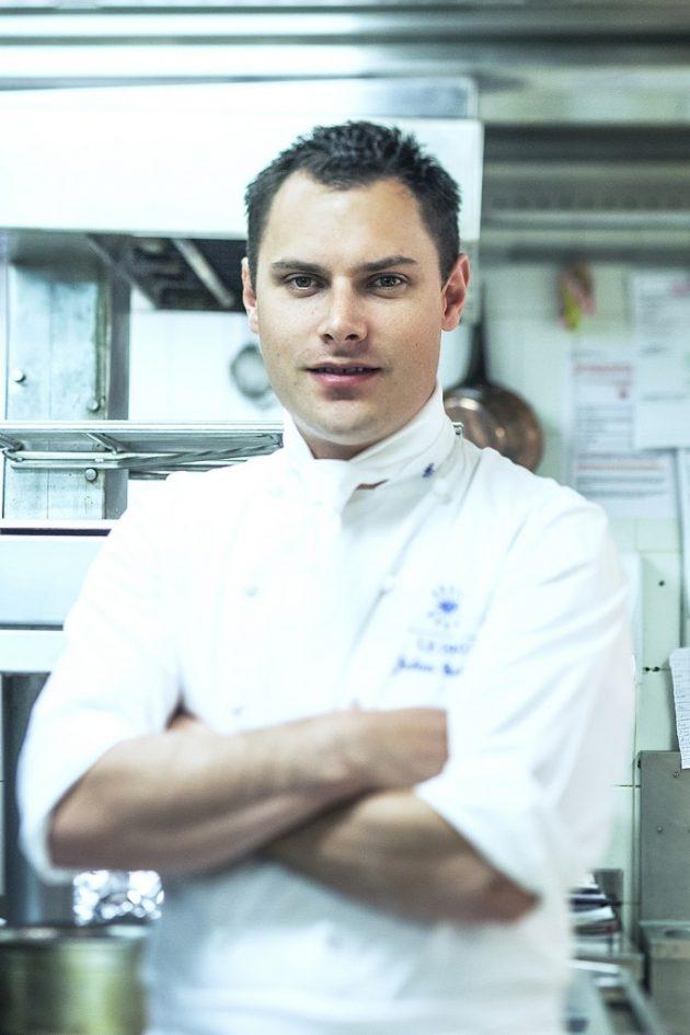 Julien Gatillon a décroché sa première étoile Michelin à l'âge de 28 ans.