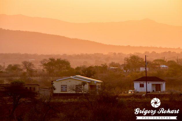 Sur la route au Swaziland