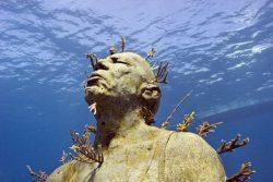 Dans la mer des Caraïbes, le musée sous-marin de Cancún !