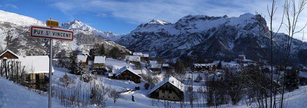 Puy-Saint-Vincent est une station familiale mais qui connaît aussi de grandes compétitions de snowboard ou de ski-alpinisme. © jan novak