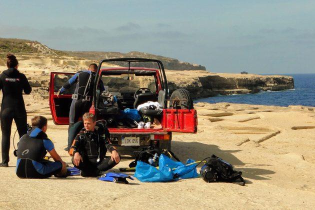 Gozo est particulièrement réputée pour ses beaux spots de plongée, tout autour de l'île.