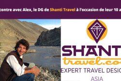 Rencontre avec Alex Le beuan, le DG de Shanti Travel à l'occasion de leur 10 ans