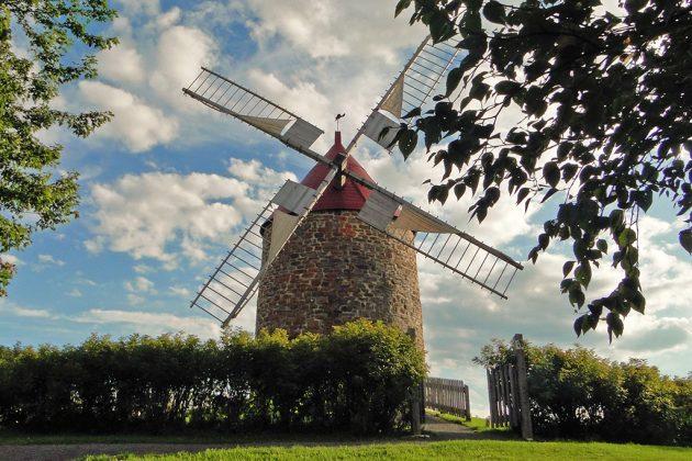Un moulin à eau et un moulin à vent réunis sur le même site, un ensemble unique au monde. Devenus un écomusée, ils produisent à nouveau de la farine.