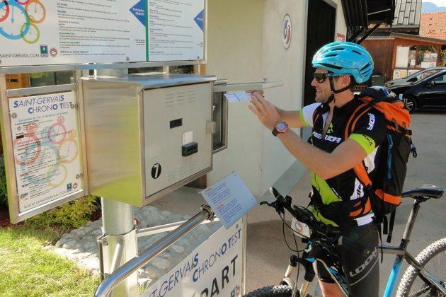 Un chronotest, destiné tant aux trailers qu'aux cyclistes, est proposé gratuitement à Saint-Nicolas.