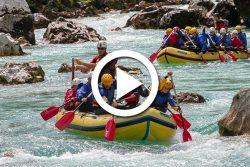 Slovénie : rafting sur la rivière Soca
