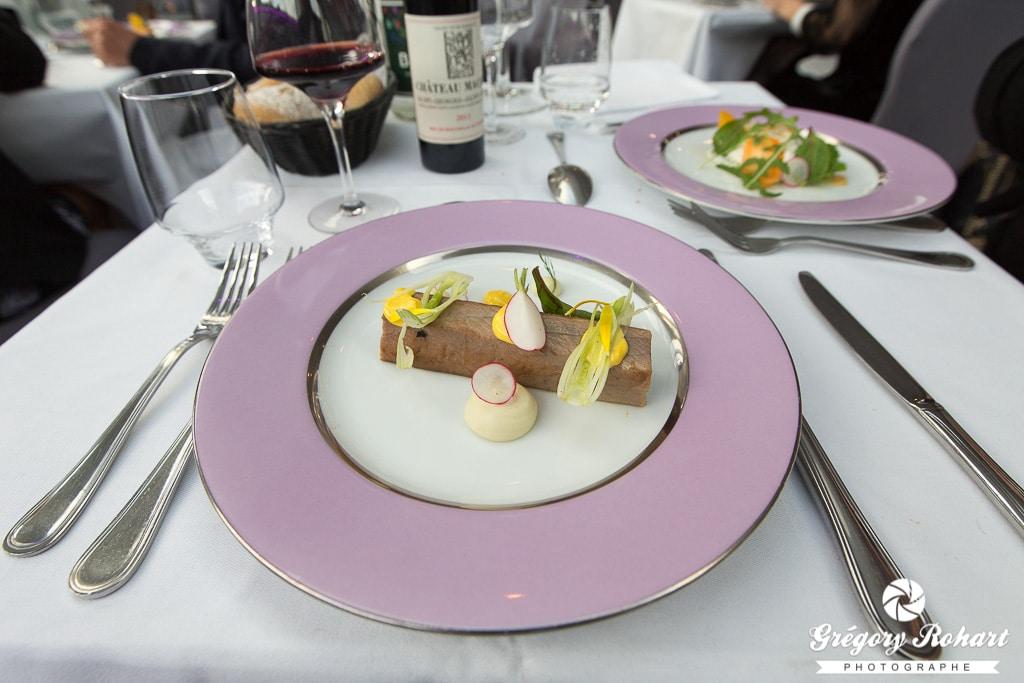 Repas Autour Du Citron Restaurant Paris