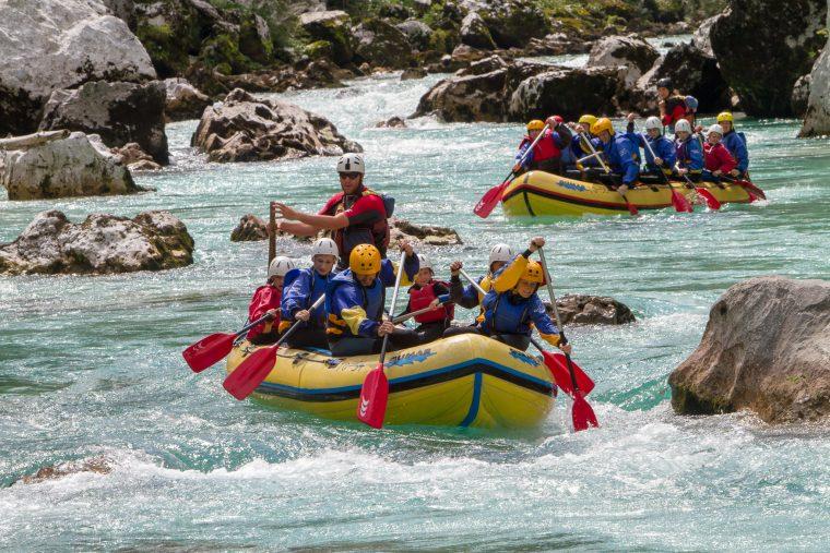 Rafting, Soca River