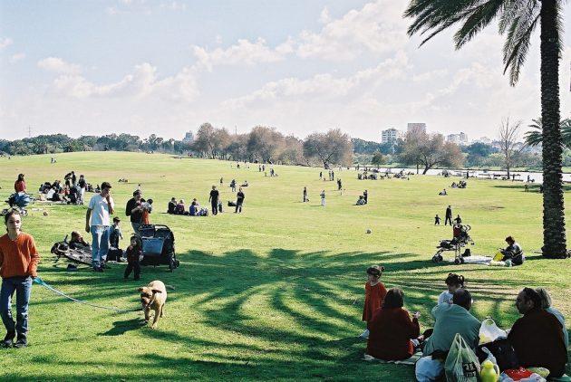 parc HaYarkon @ Israël Tourism