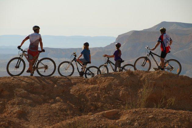 Le désert du Néguev à VTT @ Israël Tourism