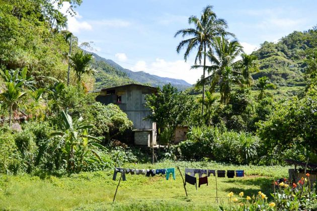 Habitation dans la région Ifugao