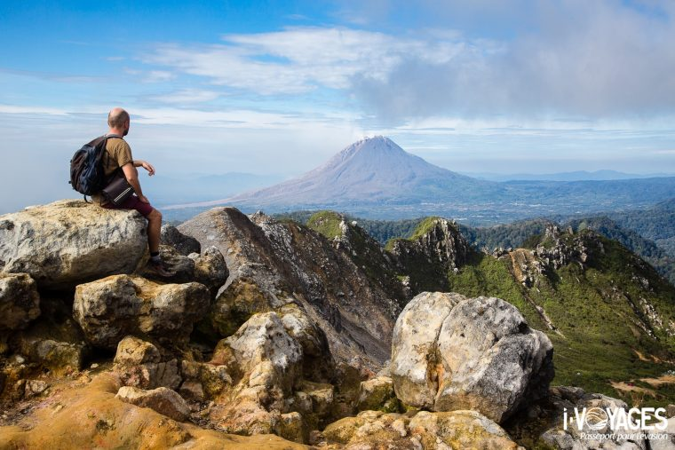 Volcan Sinabung, Sumatra