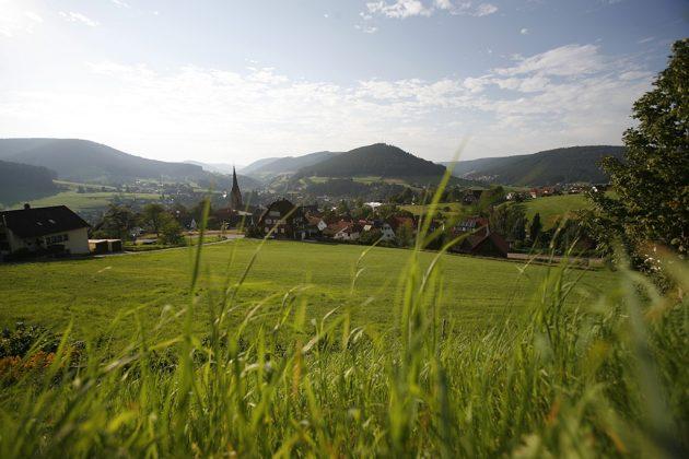 Baiersbronn s'étale sur pas moins de huit vallées entre 584 et 1050 m d'altitude.