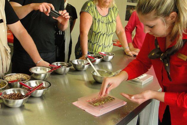Une visite goûteuse, celle de la chocolaterie Fey à Aarau