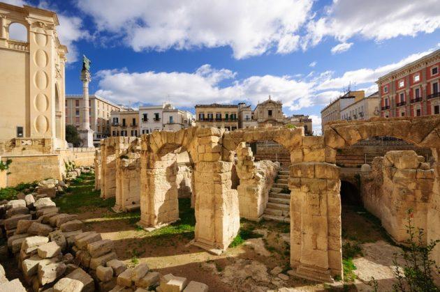 Italie Pouilles Salento Lecce