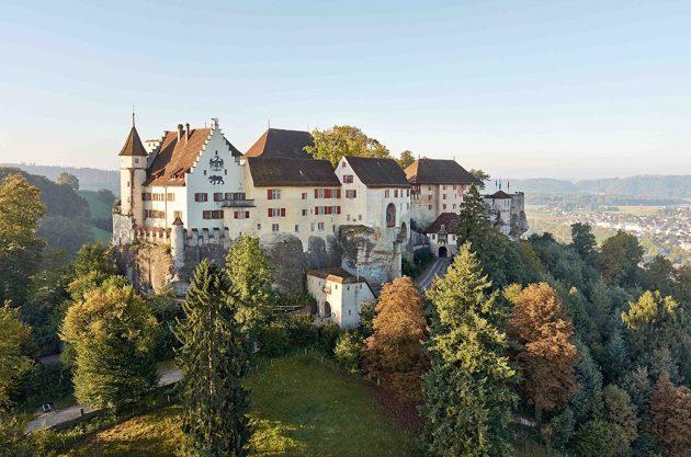 Le château de Lenzbourg est l'un des plus vieux de Suisse (Doc. Musées Aargau)