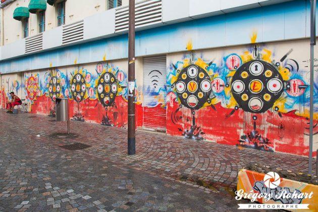 Street-art à Fort-de-France