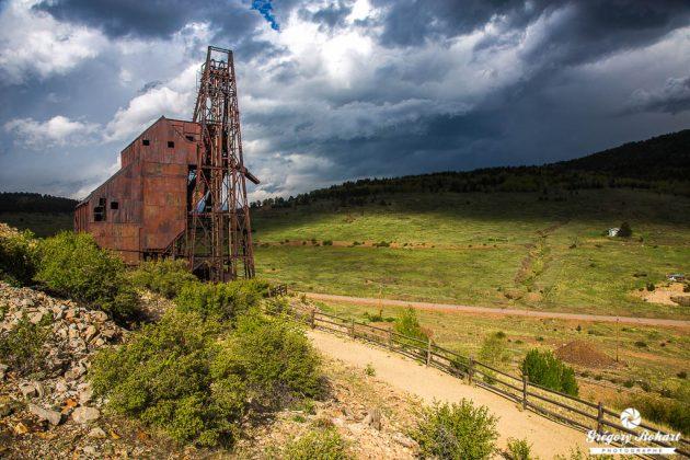 Ancienne mine d'or près de Victor
