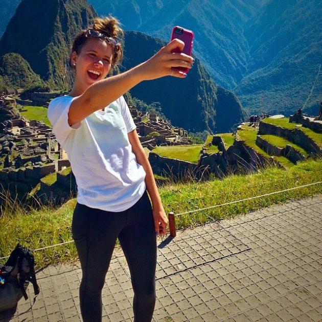 Le selfie de Macchu Picchu ! (photo de Megan Sommerfeldt)