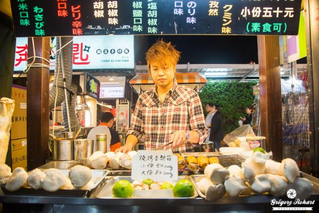 Shilin Night Market, sans doute le plus populaire marché nocture de Taïwan