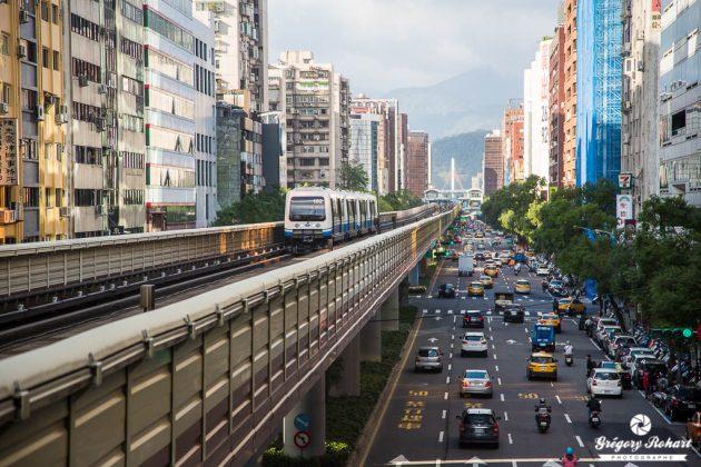 Le métro de Taipei : la meilleure solution pour se dépalcer dans la capitale taïwanaise