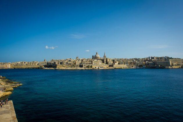 Vue panoramique de la Valette © viewingmalta.com