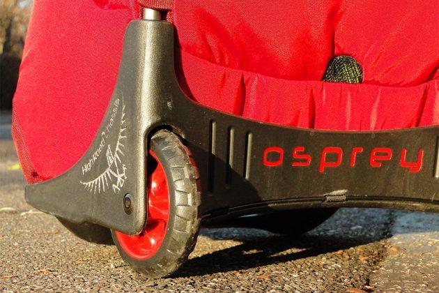 Les roues de l'Osprey Shuffle