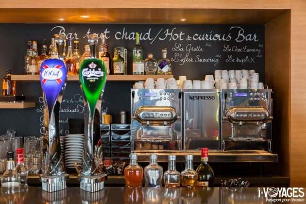 Bar tout chaud du Club Med Val Thorens Sensations