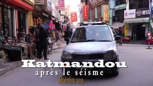 Katmandou après le séisme
