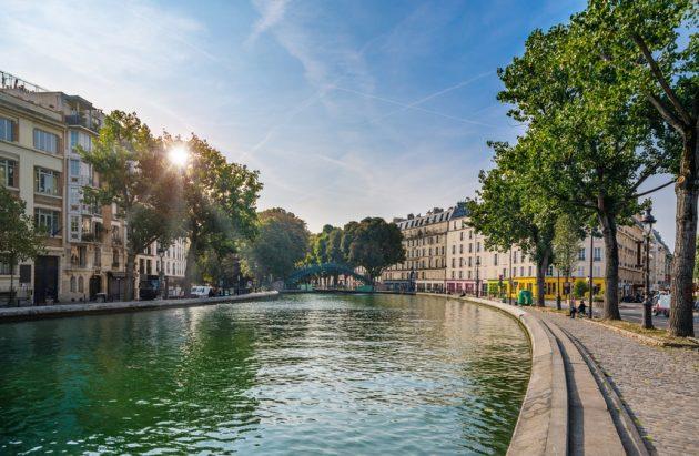 Paris - Canal Saint Martin, France © Alexander Demyanenko, Fotolia
