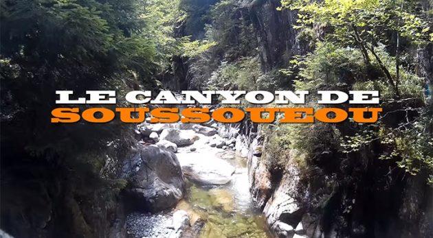 Canyoning Soussoueou