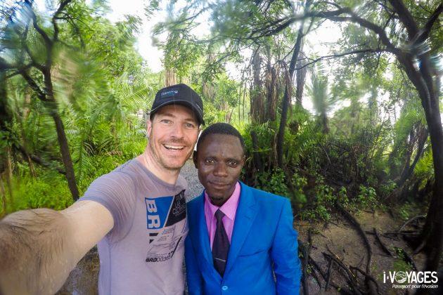Selfie à Victoria Falls