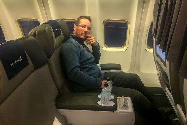 Economy Comfort d'Icelandair