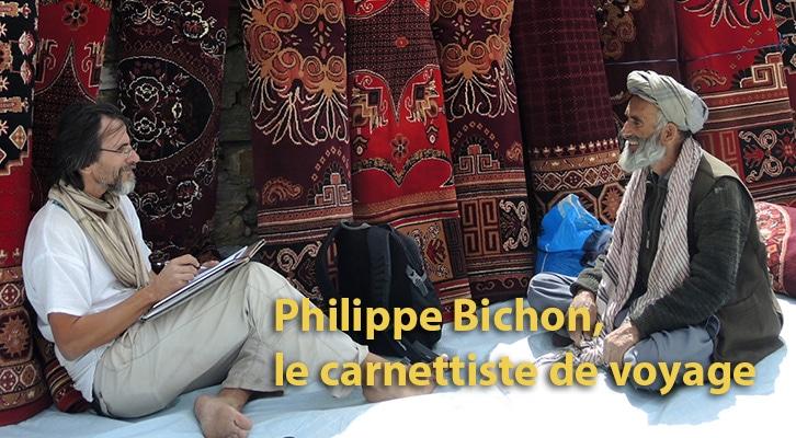 Philippe Bichon, le carnettiste de voyage