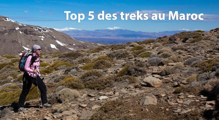 Top 5 des treks au Maroc