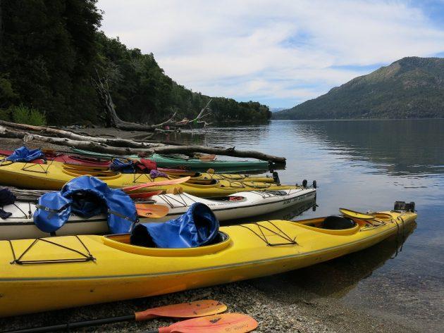 Kayak Lago Gutierrez