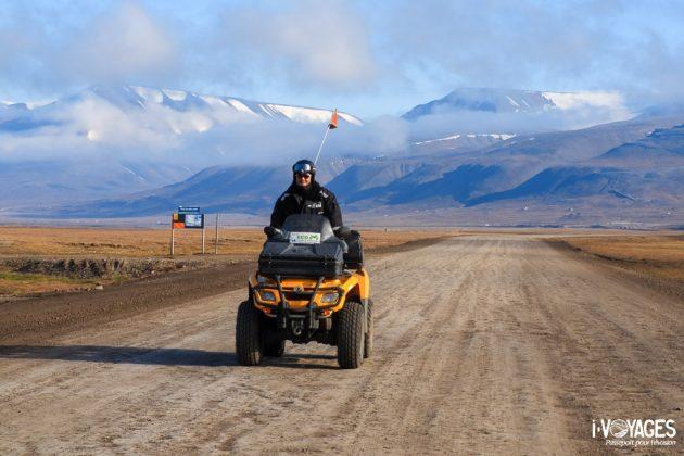 Quad au Svalbard
