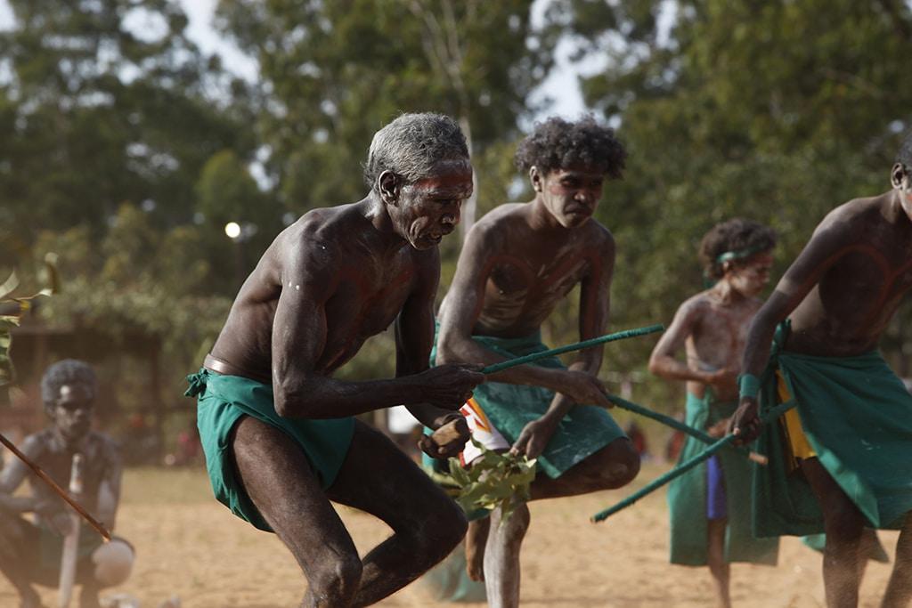 Bunggul Dance, Garma Festival, Gulkula, NT, aborigène