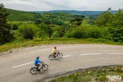 Balade en vélo électrique autour de Saint-Félicien
