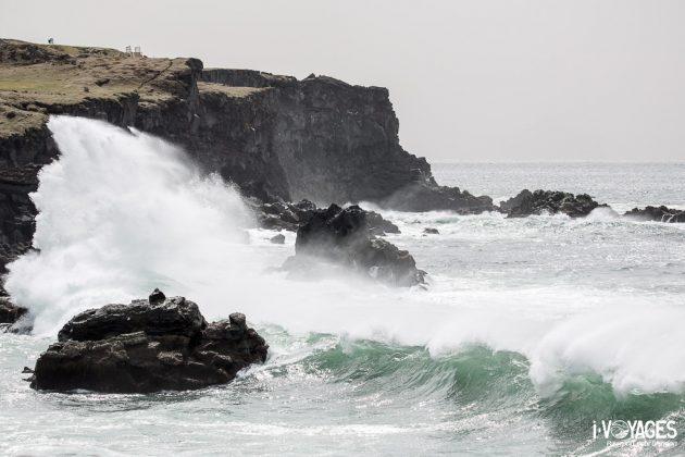 Tempête sur les îles Vestmann