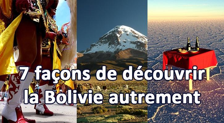 7 façons de découvrir la Bolivie autrement