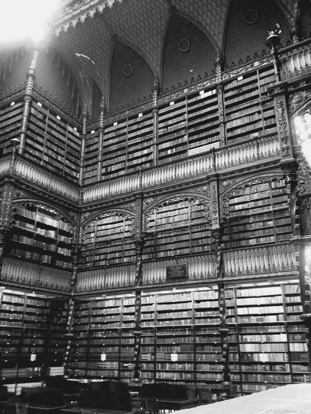 Bibliotheque nationale du bresil à Rio de Janeiro