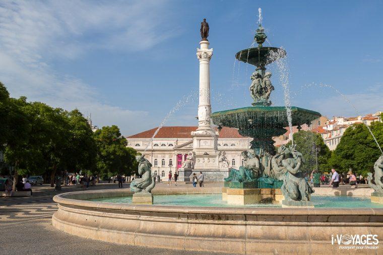 Place de Rossio, Lisbonne