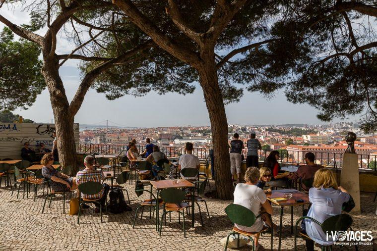 Belvédère Convento de nossa Senhora da Graça, Lisbonne
