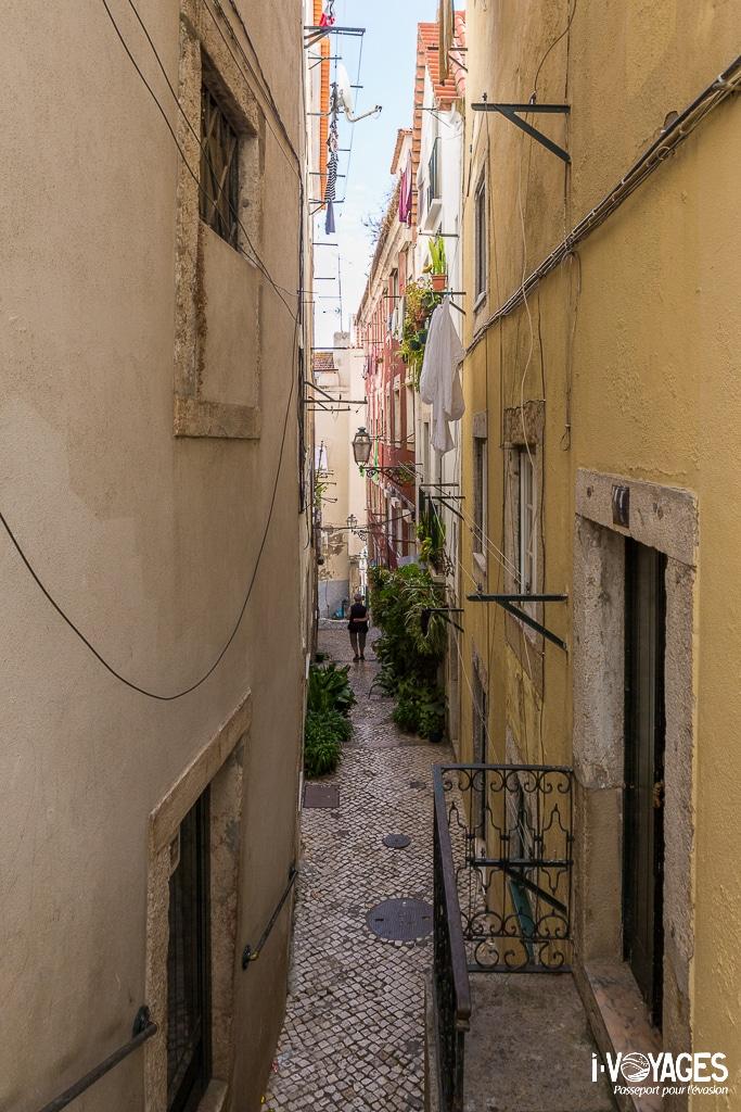 Alfama, le quartier historique de Lisbonne
