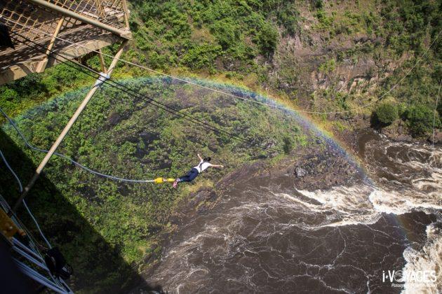 Saut à l'élastique Victoria Falls