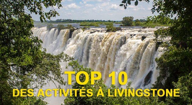 Top 10 des activités à Livingstone