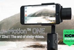 Flowmotion ONE, le stabilisateur vidéo pour smartphone et Gopro