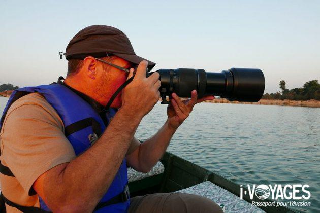 Le Fujifilm X-T2 couplé avec l'objectif XF 100-400 MM f/4.5-5.6 R LM OIS WR sur la rivière Kench en Inde