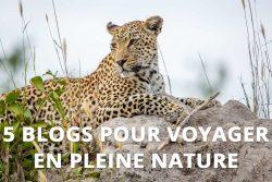 5 blogs pour voyager en pleine nature