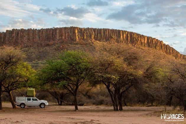 Campings en Namibie